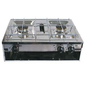 Simple Motorhome Boat Cramer 4 Burner Hob Grill 510mm X 410mm  Hobs