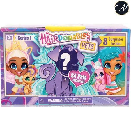 Hairdorables - Pets Serie 1