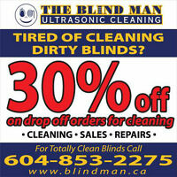 Dirty Blind Cleaning