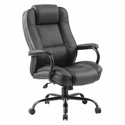 Zoro Select 452r31 Executive Chairheavy Dutyleather Seat