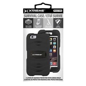 Xtreme - Survival Case for iPhone 6 Plus - Black - 54031