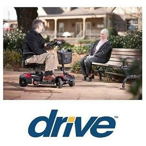 USED DRIVE MEDICAL 4 WHEEL SCOOTER SCOUT - COMPACT TRAVEL - POWER SCOOTER MOBILITY DEVICE 107714013