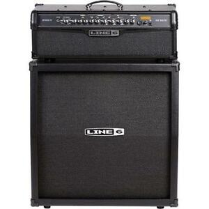 FOR SALE:: Line 6 Spider IV Half Stack, with MK II footswitch