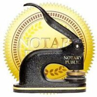*Notary Public/Commissioner for Oaths- from $7.50* per sign*