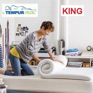 "NEW* KING MATTRESS TOPPER 11284170 209288848 TEMPUR-PEDIC 3"" THICK PREMIUM FOAM"