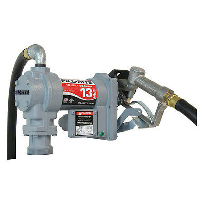 Fill-rite Sd1202h Fuel Transfer Pump 12vdc 13 Gpm 16 Hp Cast Iron 1 Inlet