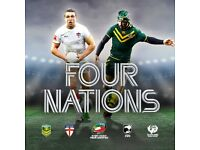 FOUR NATIONS TOURNAMENT ON 13TH NOVEMBER 2016