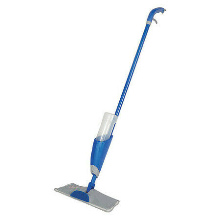 "Quickie 2082578 Mop Pad,Blue Handle,4-1/2"" Frame W"