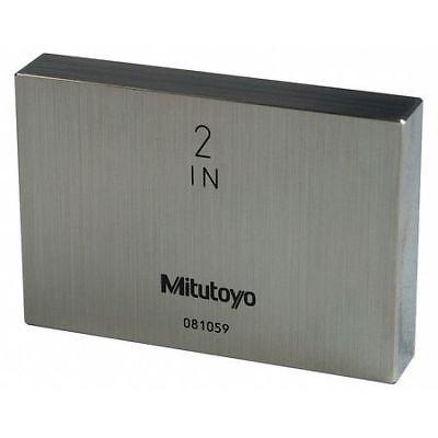 Mitutoyo 611202-541 Gage Block2 L38 Hsteelasme As-1
