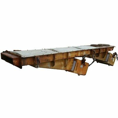 Used 24 Wide X 14 Long Eriez Electro-magnetic Vibrating Feeder Conveyor