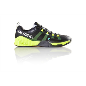 Salming Kobra Black/Yellow Indoor Court Shoes