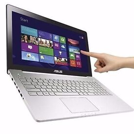 "Asus N550JK touchscreen Intel Core i7 4700HQ 8GB 1TB GTX NVIDIA 15.6"" Win 8"