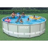 16X48 POOL FOR SALE WITH SALT WATER PUMP