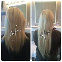 PROFESSIONAL Hair Extentions (Weave) Full head $100 -