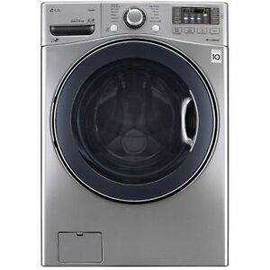 LG WM3570HVA 5.0 Cu. Ft. Front Load Washer with SteamWash™