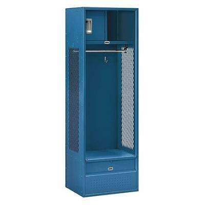 Salsbury Industries 70018bl-u Open Access Locker24wx72hx18dblue