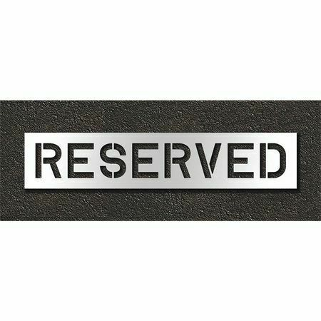 Rae Stl-108-71033 Pavement Stencil,Reserved
