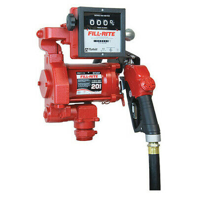 Fill-rite Fr711va Fuel Transfer Pump 115vac 19 Gpm 13 Hp Cast Iron