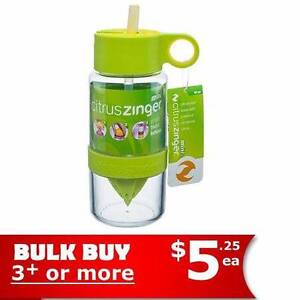 BULK BUY & SAVE - Brand NEW! Zinger Drink Bottle Citrus Infuser Lidcombe Auburn Area Preview