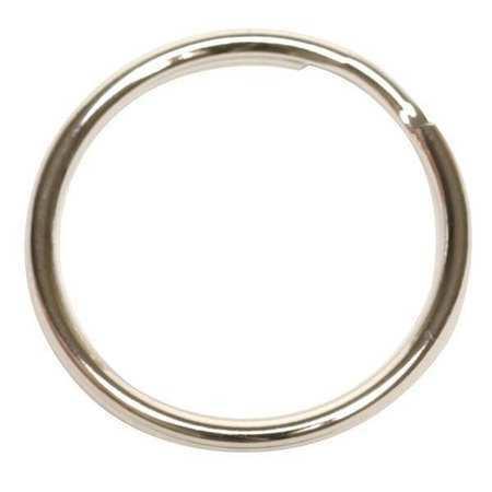 Zoro Select 1F099 Key Ring,1 1/4 In,Pk25