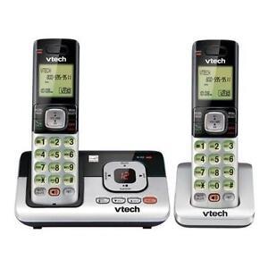 VTECH CS6829-2 2HS DECT 6.0 EXP.CORDLESS PHONE CID/ANS (SLV)