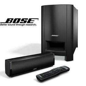 REFURB BOSE CINEMATE 15 SPEAKER SYS CineMate 15 182099827 Home Theater SUBWOOFER SURROUND SOUND