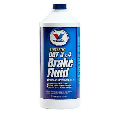 Valvoline Synthetic  DOT 3 and 4 Brake Fluid (32 oz each  Pack Of
