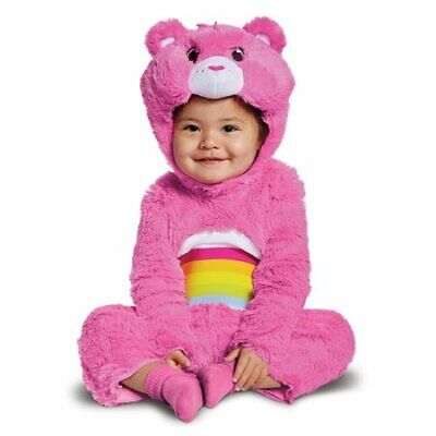New Care Bears Cheer Bear Deluxe Infant Costume 12-18 Months
