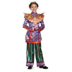 Alice through the looking glass costume (4-6 and 7+)