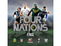FOUR NATIONS TOURNAMENT 2016 FINAL AT ANFIELD