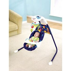 Fisher Price Aquarium Swing