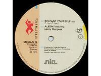 Aleem Featuring Leroy Burgess – Release Yourself / MKHAN 26 / Vinyl 12'' / 1984 / Electro Funk