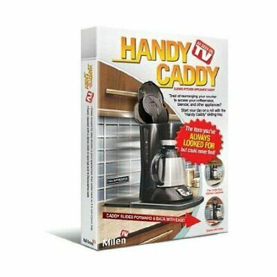 Handy Caddy Sliding Kitchen Under Cabinet Appliance Moving Caddy Home & Garden