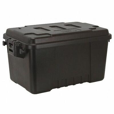 Plano Molding 1619-00 Black Storage Trunk 24 In X 15 In X 13 In H 1 Pk