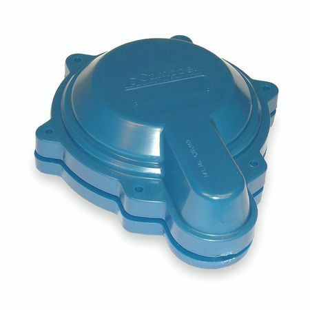 Campbell Wtc6p Well Cap, Abs, Vent Tapping 9/16 In