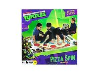 Teenage Mutant Ninja Turtles Pizza Spin Twisting Game