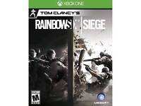 Gta (ps4) rainbow six siege & Fifa17 ( xbox one)