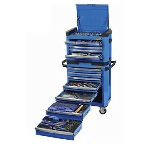 Kincrome 329 piece tool kit chest and roller cabinet