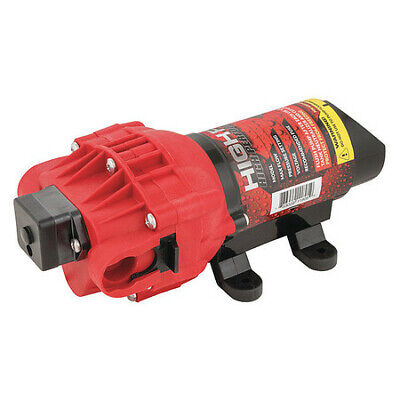 High-flo 5151087 Diaphragm Pump12vdc2.4 Gpm Max. Flow