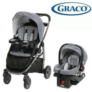 NEW GRACO MODES TRAVEL SYSTEM 7AL11ECH3CA 209360605 Echo Click Connect Modesck