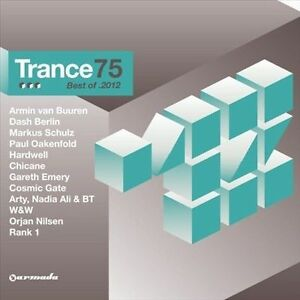 Trance 75: Best of 2012 by Various Artists (CD, Dec-2012, 3 Discs) New (Box C147