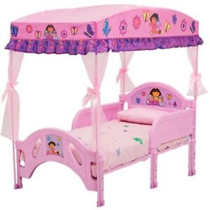 Toddler BED with canopy