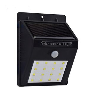 Waterproof Solar Powered LED Wall Light Huge Sale 4 For $20.00