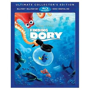 Finding Dory 3D Blu Ray
