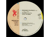 Aleem Featuring Leroy Burgess ‎– Release Yourself / MKHAN 26 / Vinyl 12'' / 1984 / Electro Funk