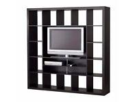 IKEA EXPEDIT TV STORAGE CLOTHES UNIT BLACK ( Wardrobes, Shelving & Storage for Sale)