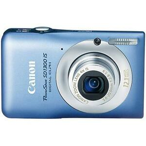 Canon PowerShot SD1300IS 12.1 MP Digital Camera with 4x Wide Ang
