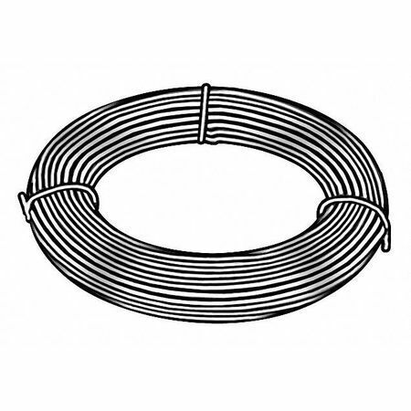 Zoro Select 21047 Music Wire,C1085 Steel Alloy,21,0.047 In