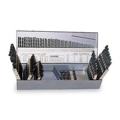 CHICAGO-LATROBE 49928 Jobber Drill Set, 115 PC, HSS, 118 Deg