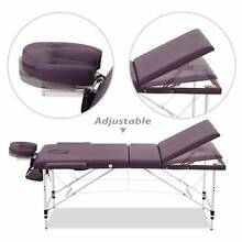 Black Genki Portable 3-Section Massage Table Annerley Brisbane South West Preview